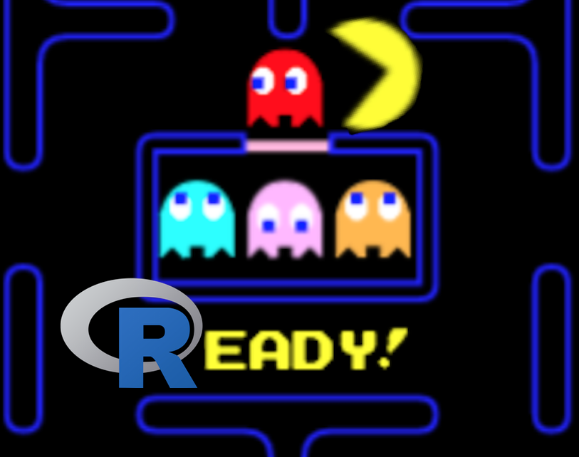 R pkg Easter Eggs — Revenge of Pacman!
